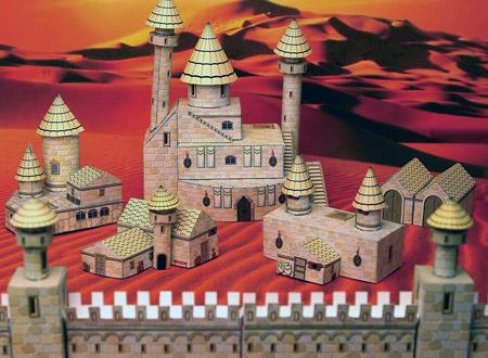 Hobicity Human Castle Papercraft Paperkraft Free