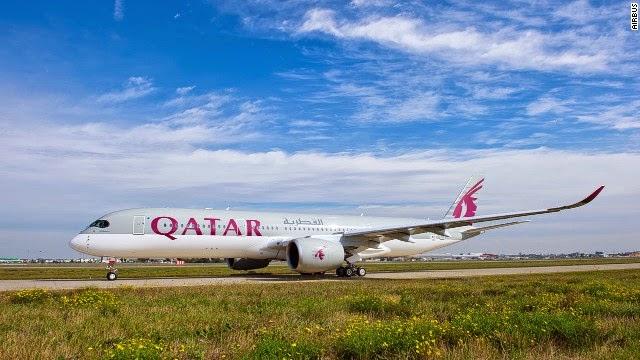 에어버스 A350 1호기 카타르항공 인도