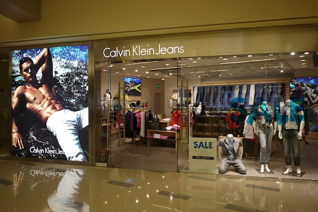 A Calvin Klein Jeans store at the MixC in Shenzhen