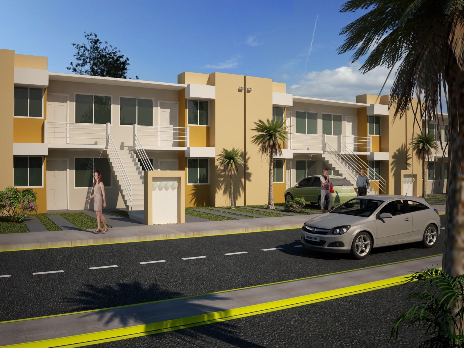 Casas modeladas en revit architecture renders en 3ds max for Casa moderna revit