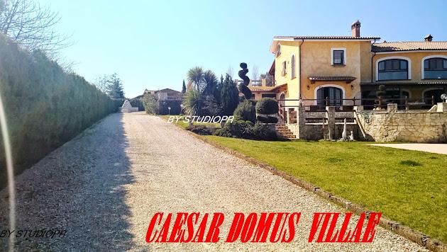 CAESAR DOMUS VILLAE LOCATIONS OF ITALY BY CESARE CRESCENZI