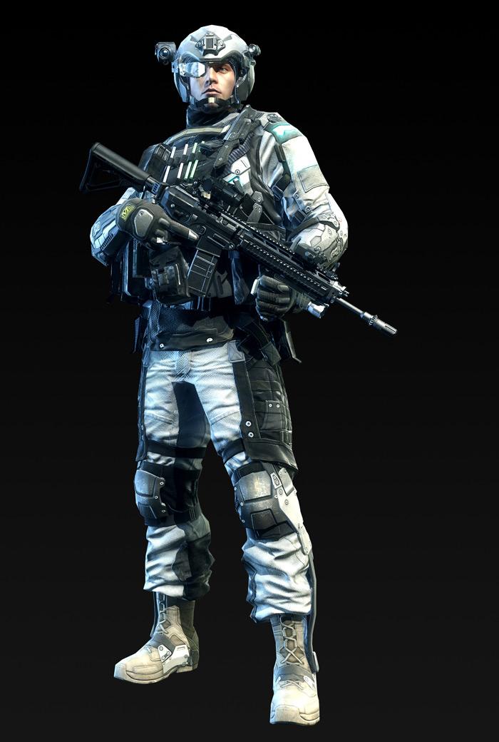 Tạo hình nhân vật trong Metro Conflict - Ảnh 7