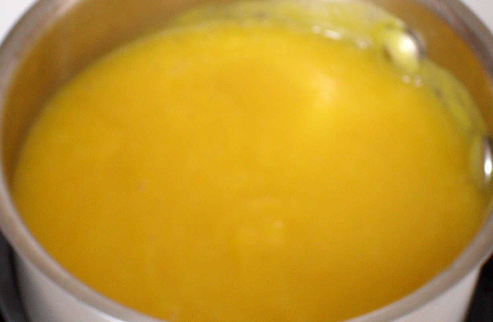 Parsnip and sweet pepper puree
