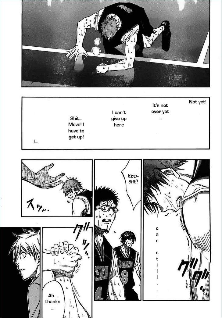 Kuroko no Basket Manga Chapter 157 - Image 15