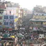Une rue de Old Delhi, prise de Jama Masjid