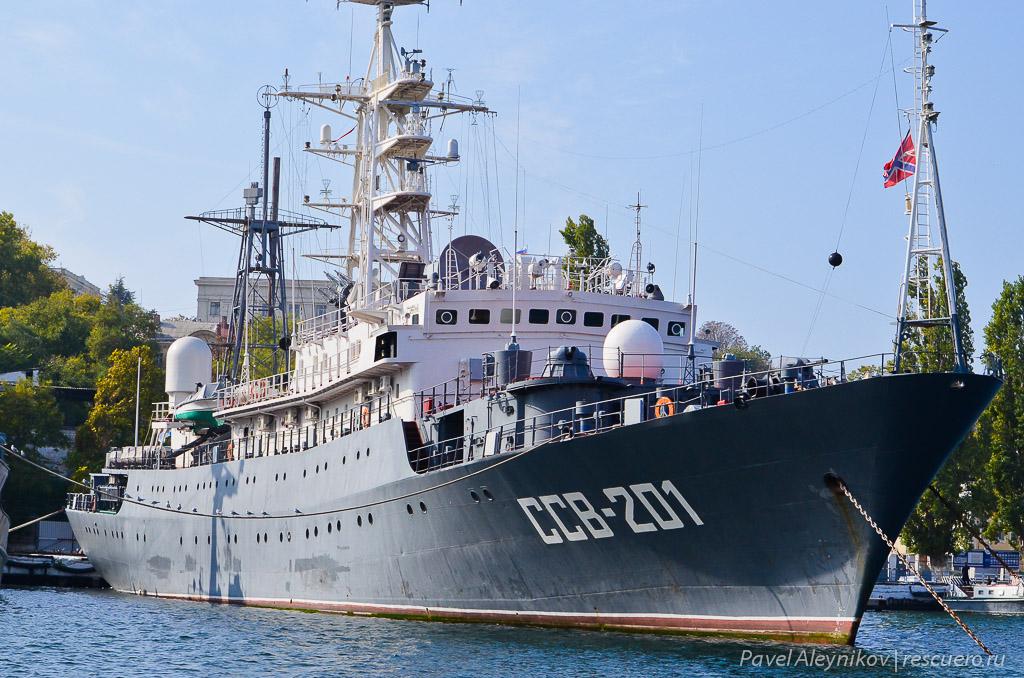 """Разведывательный корабль ССВ-201 """"Приазовье"""""""