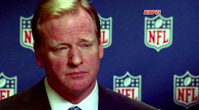 Roger Goodell falls asleep in a tanning bed