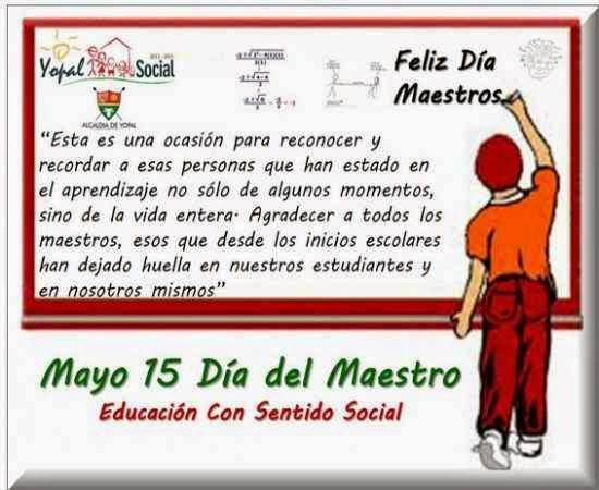 Hermosos mensajes para el dia del maestro ~ PENSAMIENTOS DE AMOR