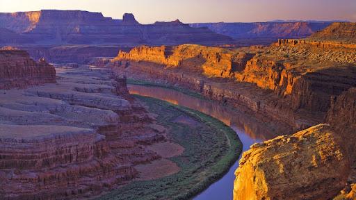 Colorado River, White Rim at Sunrise, Canyonlands National Park, Utah.jpg