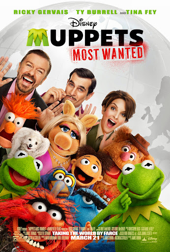 2014 Disney Movies: Muppets Most Wanted