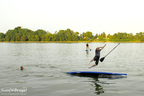 Stand up paddle - wcale nie jest nudno ;)