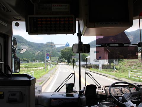 九州産交バス「やまびこ号」 車窓 その3