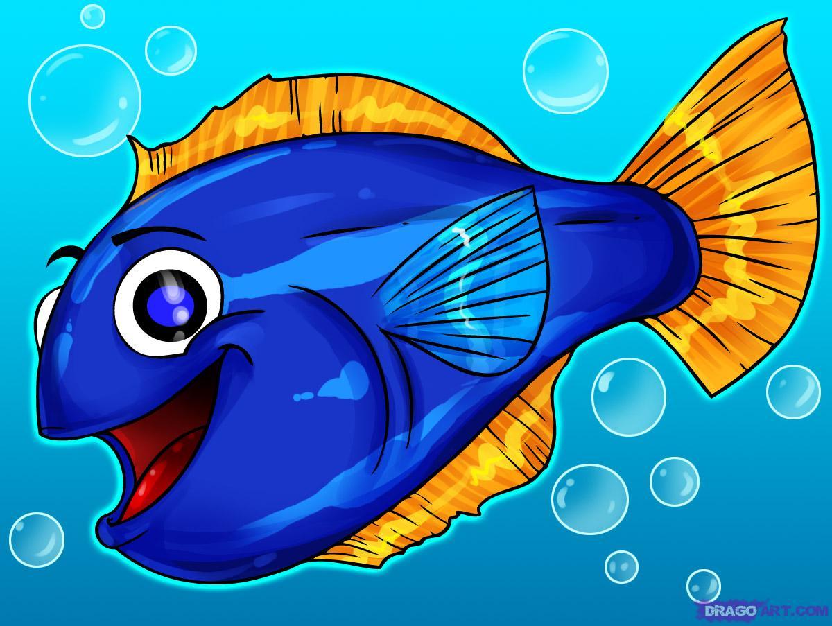 Fish Cartoons The Fishbowl Li...