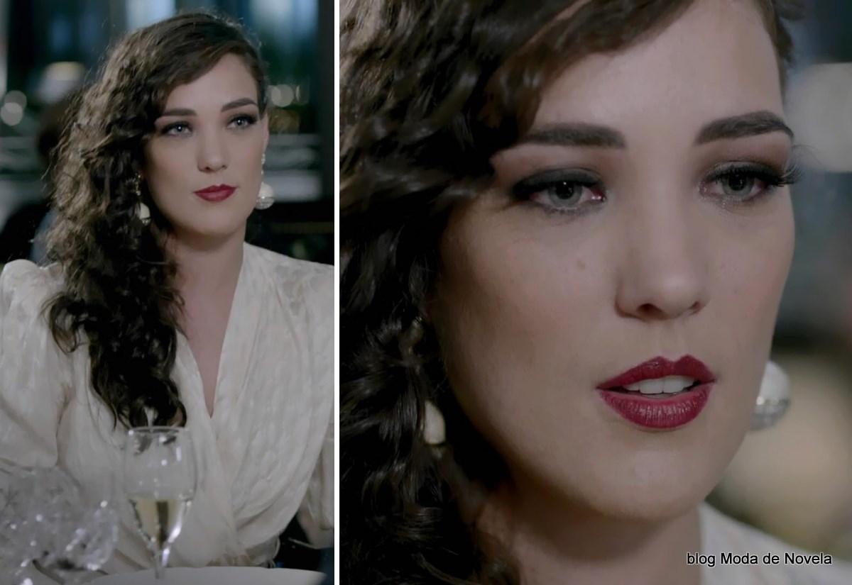 moda da novela Império - maquiagem da Maria Marta capítulo dia 22 de julho