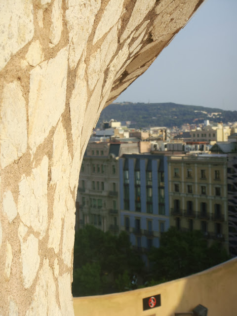 Terraza Casa Milá, La Pedrera, Barcelona, Elisa N, Blog de Viajes, Lifestyle, Travel