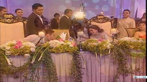 Sepatutnya Rosmah duduk di sebelah pengantin, sama ada di sebelah