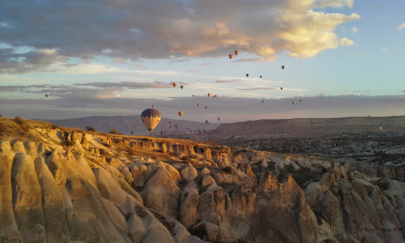 cappadocia by hot air balloon