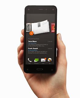 Amazon Fire Phone runs Fire OS 3.5