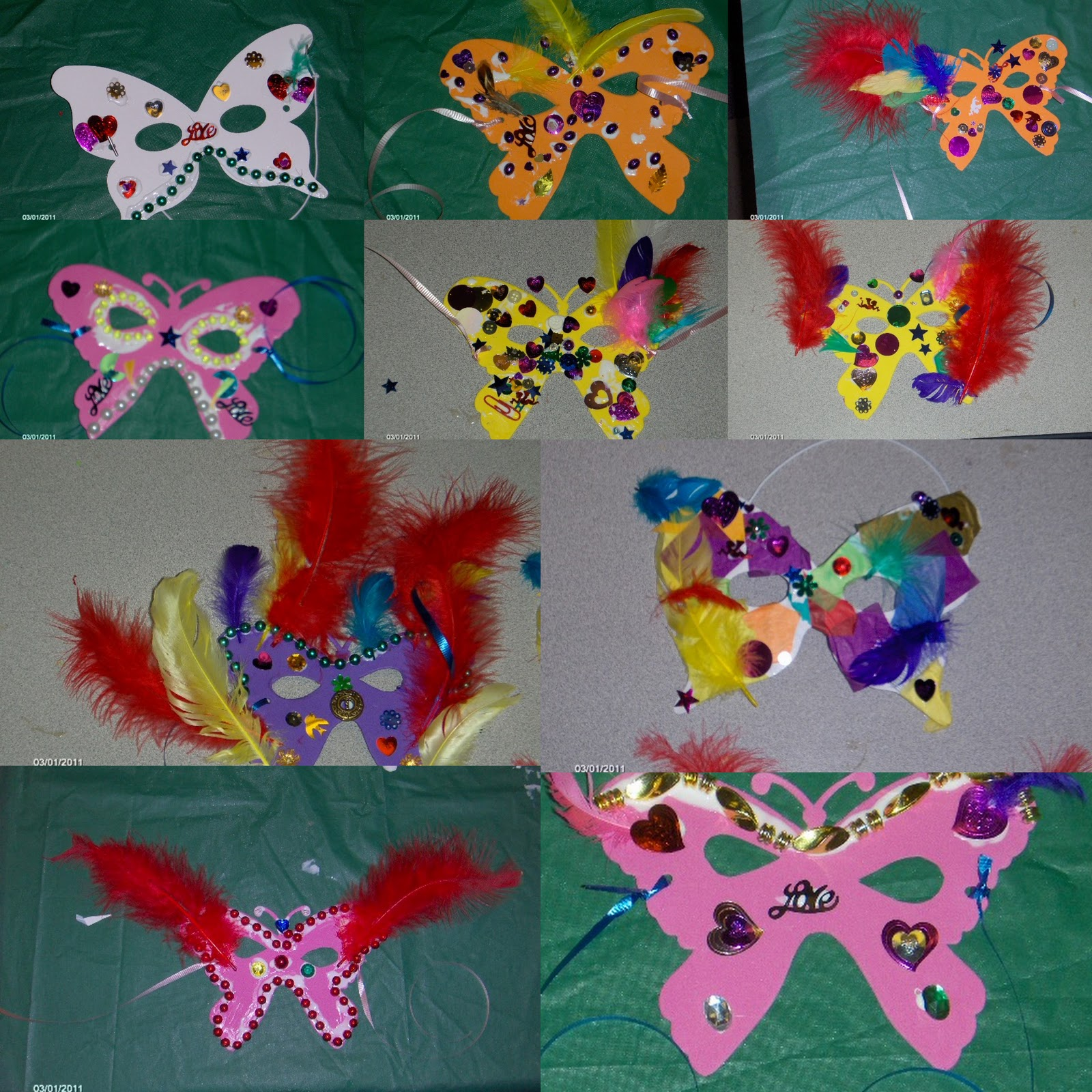 March arts and crafts - Wonderful Arts Crafts In Wells Branch Butterfly Masks For Mardi