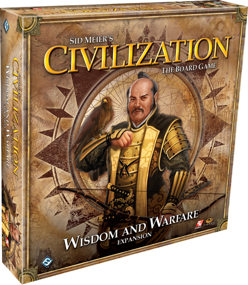 Fantasy Flight Games: Sid Meier's Civilization – Wisdom and Warfare expansion