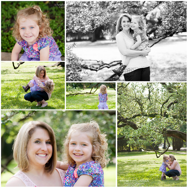 Jennifer and her daughter's mommy & me mini session