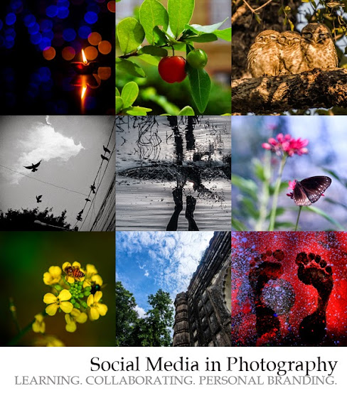 social media in photography, meetup group