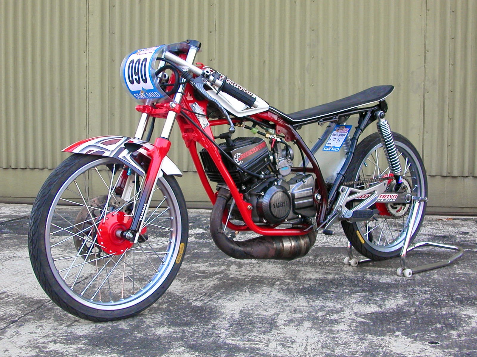 Modifikasi Motor Honda Tiger Ceper