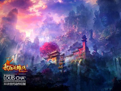 """Xạ Điêu Anh Hùng Truyện """"khoe"""" phong cảnh trong game 2"""