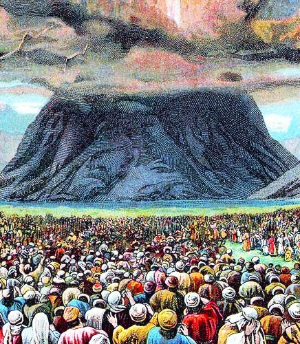 CORNER RETREAT: See Fiery Mountain of Moses!