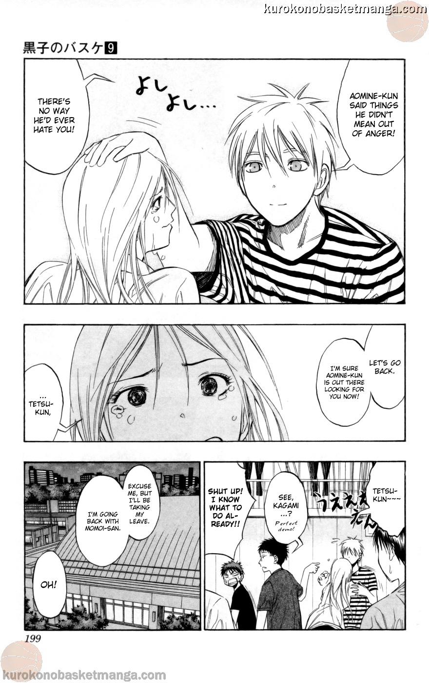 Kuroko no Basket Manga Chapter 80 - Image 13