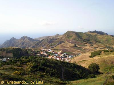 Vistas Mirador Jardina Anaga, Tenerife