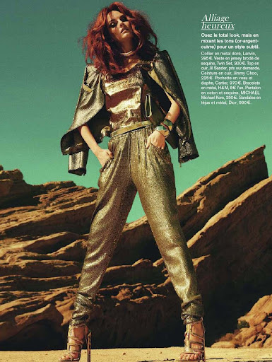 Lydia Hearst Metal Fatal Glamour France