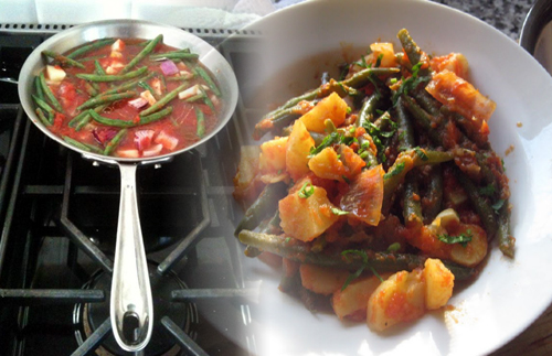 String Beans Stewed in Tomato Sauce (Fagiolini in umido)