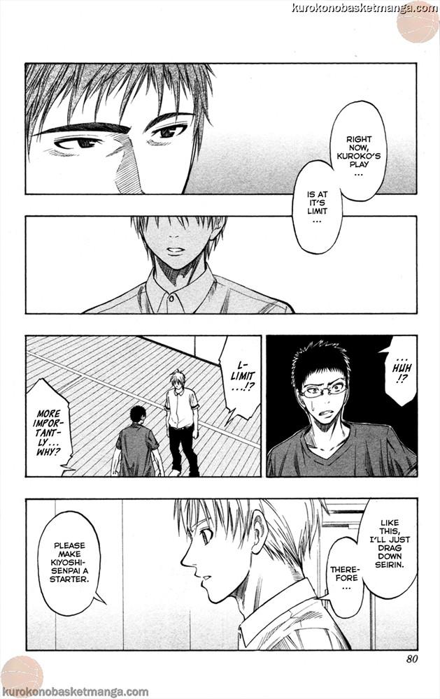 Kuroko no Basket Manga Chapter 56 - Image 12