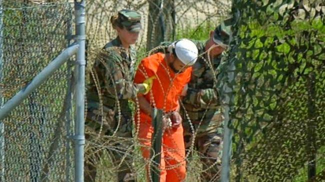 Guantanamo prisoners spray bodily fluids on US guards