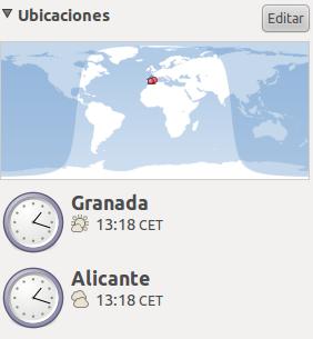 Añadir ubicación en Ubuntu