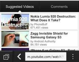 How To Download Youtube Videos On Blackberry10 SmartPhone
