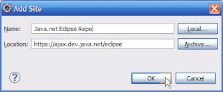 Add Eclipse Repository