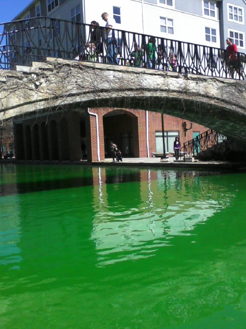 Things to do in Indiana Saint Patrick Day Saint Patrick Day Greening of The Canal, Indianapolis