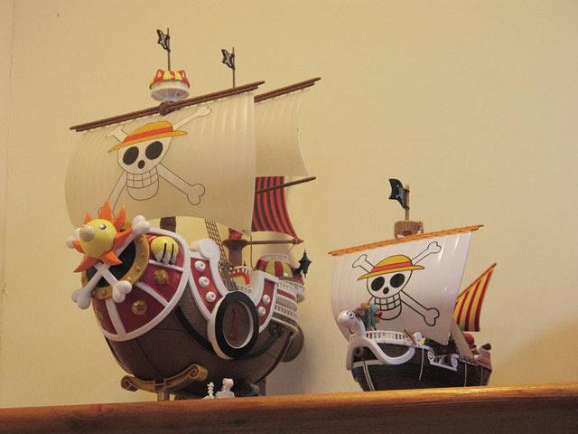 好精緻的模型!好想要喔~~-LV5.5 新人類樂園海賊王主題餐廳