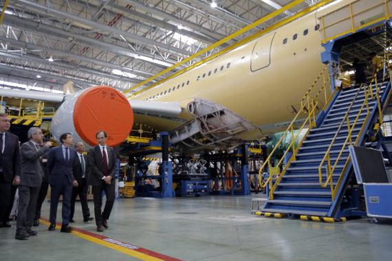 Ampliación de EADS CASA, factoría puntera de la industria aeronáutica española, en Getafe