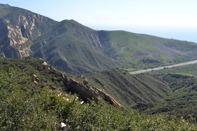 ridge line to drop down