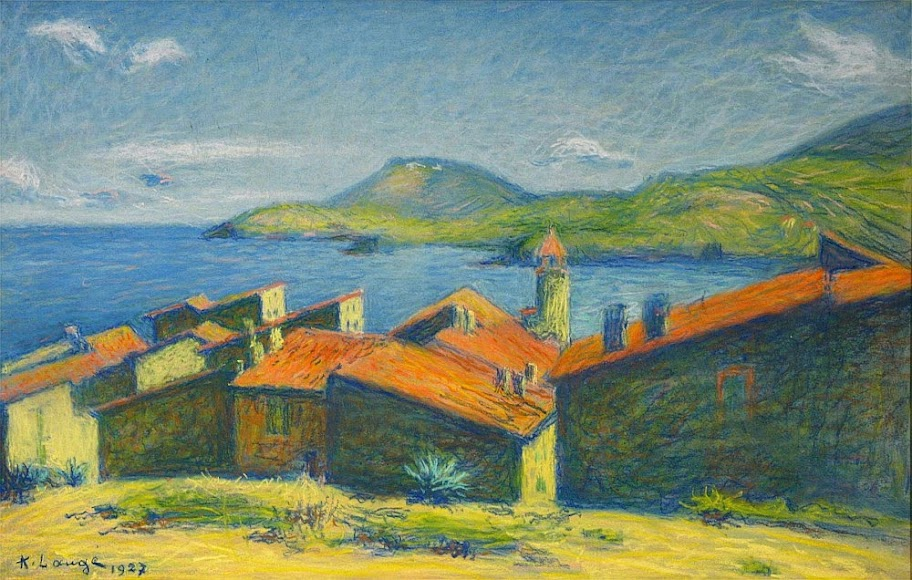 Achille Laugé - Collioure 1927