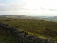 View south from Shining Tor towards Wildboarclough