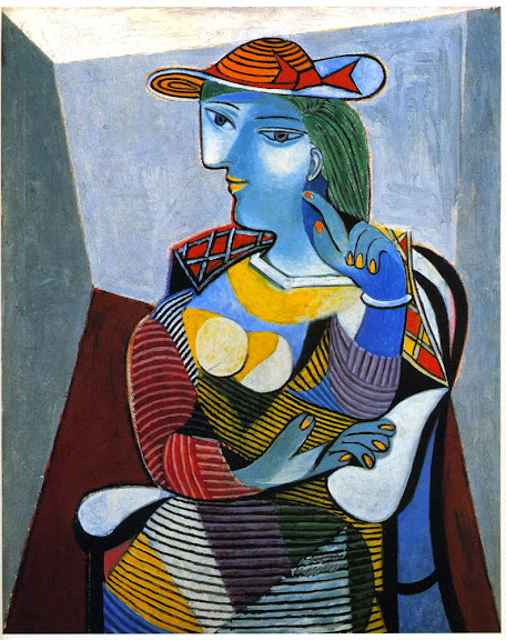 Pablo Picasso - Portret of Marie-Thérèse Walter 1937