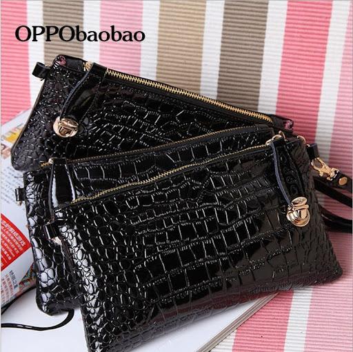 OPPO bag Brand fashion women handbags high quality CROC