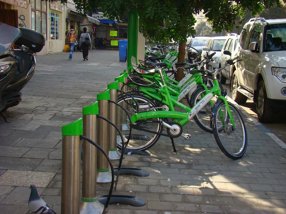 La bici pública de Tel Aviv fue determinante para el apoyo del alcalde Ron Huldai