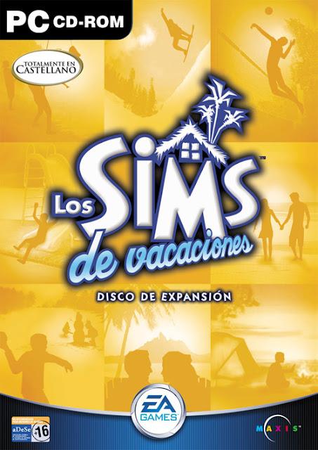 Carátula Los Sims De Vacaciones