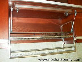 Kệ úp chén dĩa inox trong tủ bếp