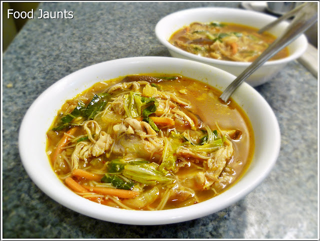 Asian Chicken Noodle Soup Overview